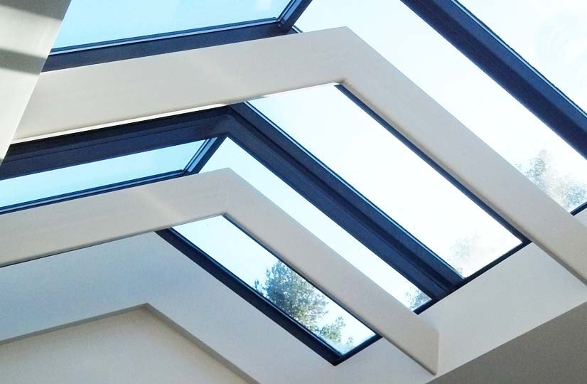 this is a photo of skylight windows in raleigh north carolina
